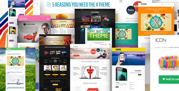 X v1.6.0 – ThemeForest Ultimate WordPress Theme