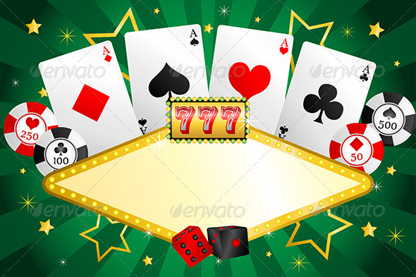 GraphicRiver Gambling Background 6319384