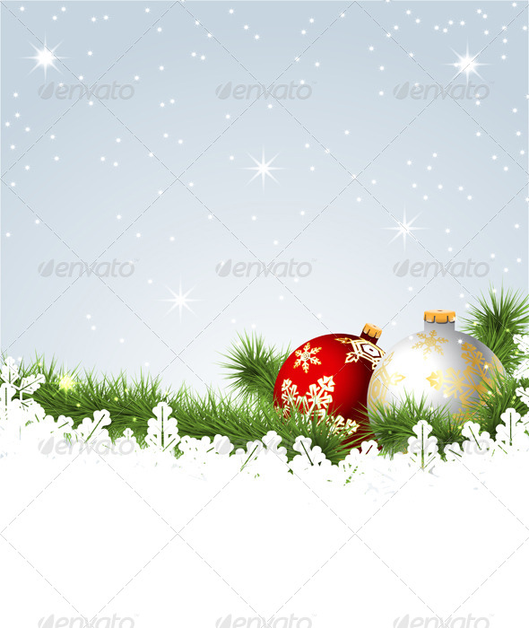 GraphicRiver Christmas Background 6320250