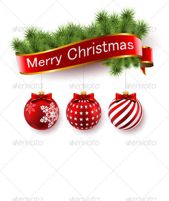 GraphicRiver Christmas ecorations 6320258