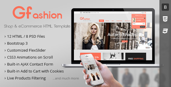 GFashion - Responsive Online Shop Template