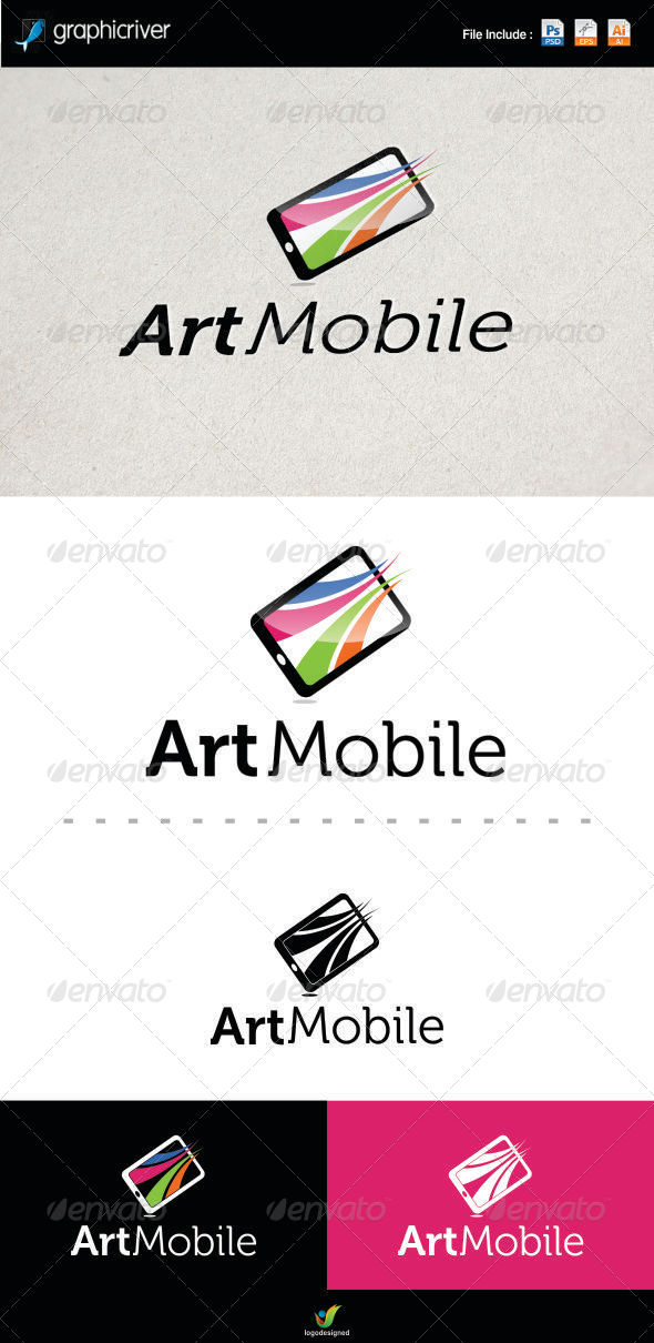 GraphicRiver Art Mobile Logo 6320410