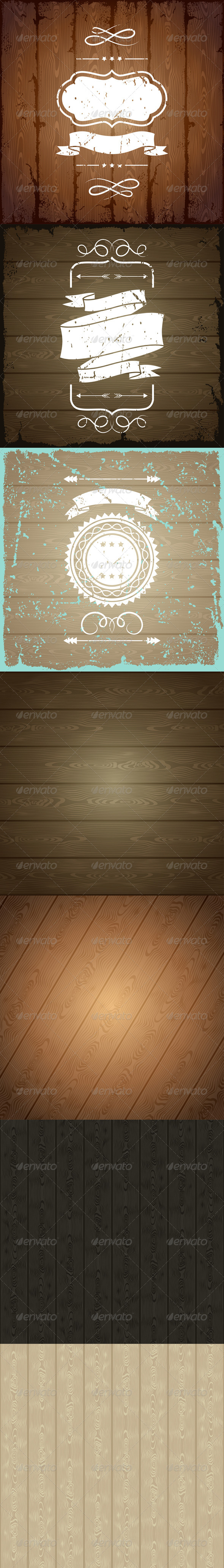 GraphicRiver Wooden Texture Backgrounds 6320572
