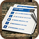 Square Business Card Vol3 - GraphicRiver Item for Sale