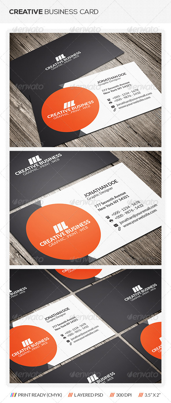GraphicRiver Modern Corporate Business Card 6320845