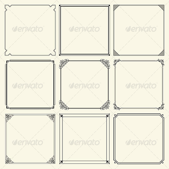 GraphicRiver Decorative Frames 6320957