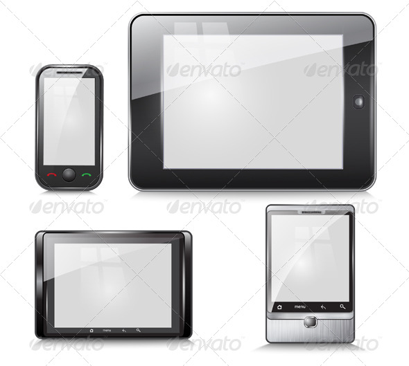 GraphicRiver Set of Electronic Devices 6321893