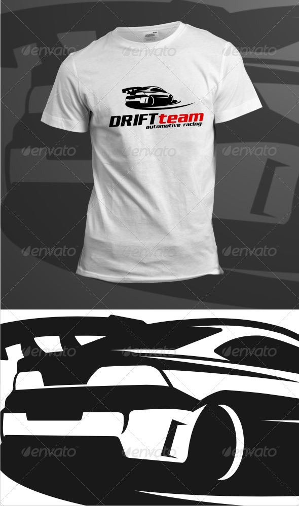 GraphicRiver Drift Team T-Shirts 6270271