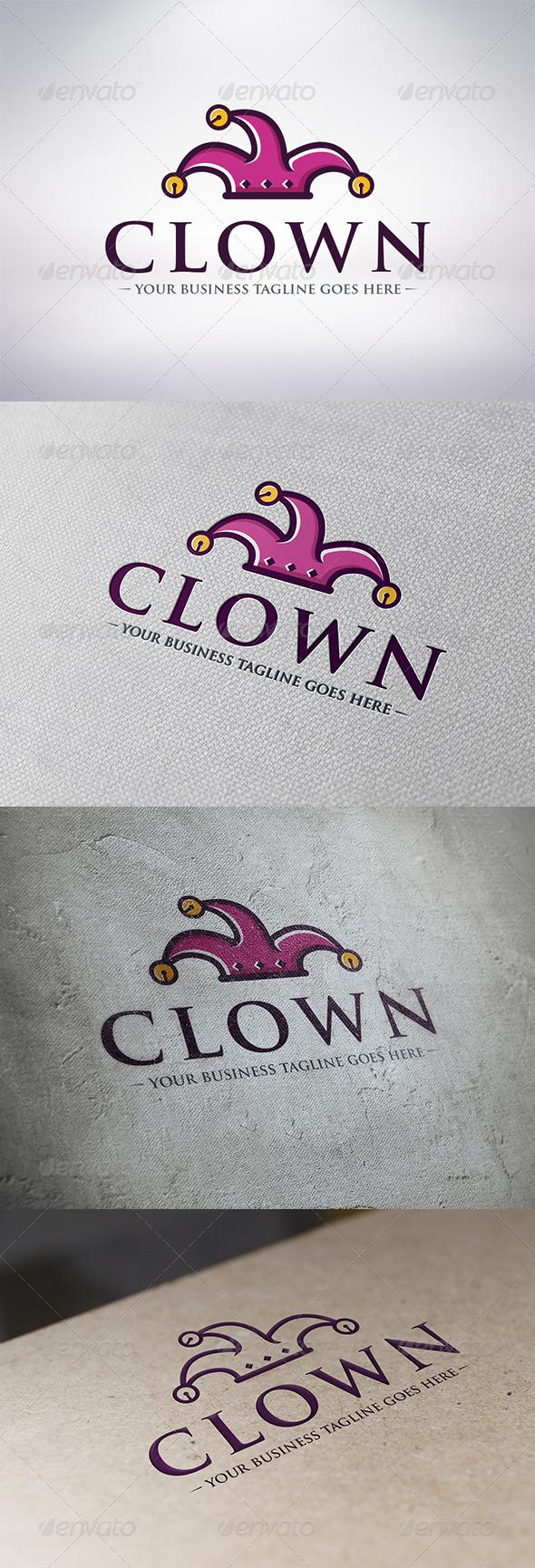 GraphicRiver Clown Logo Template 6322242