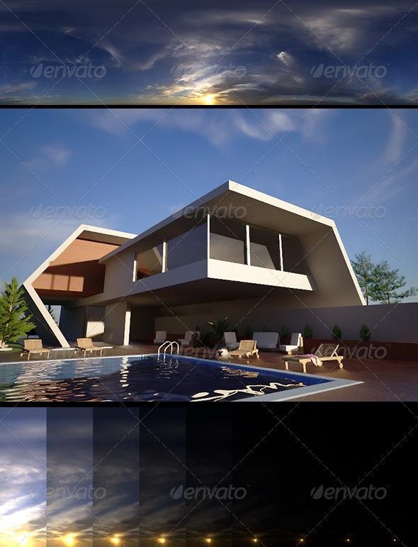 3DOcean Realsky HDRI Sunset 1640 6322313