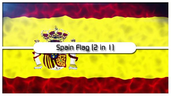 Spain Flag 2 in 1