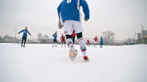 Download Playing Soccer in Winter nulled download