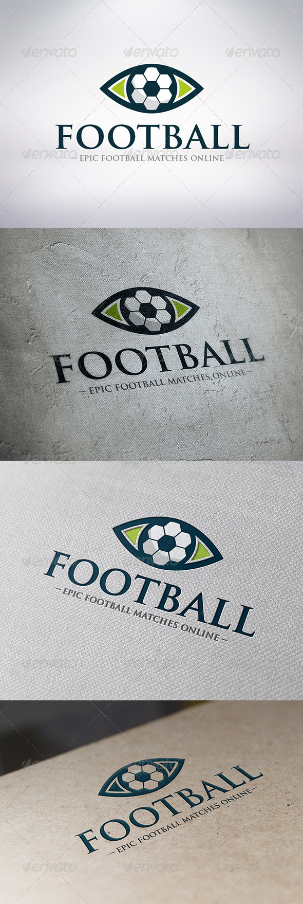 GraphicRiver Watch Football Logo Template 6322766