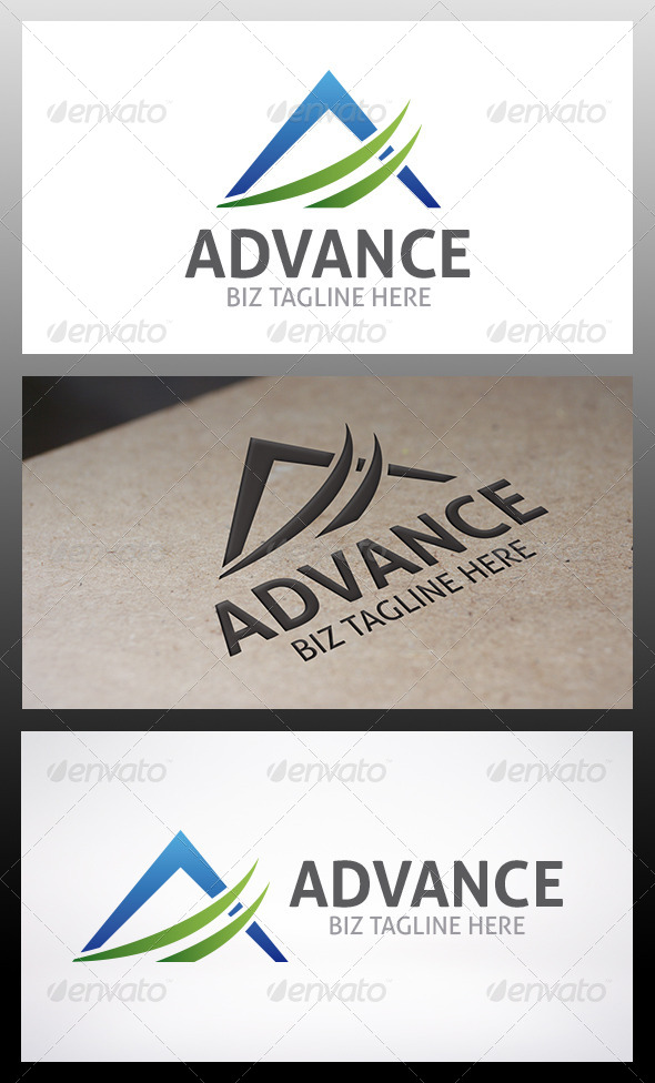 GraphicRiver Advance Logo 6322906