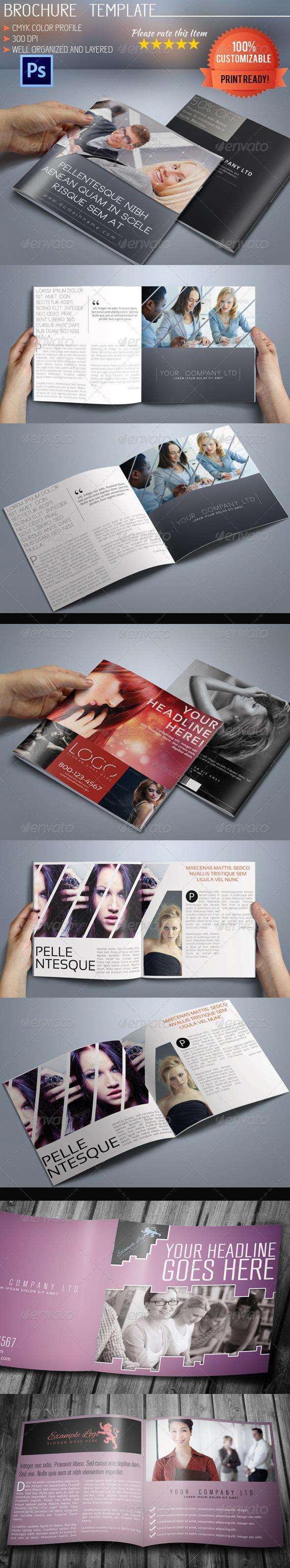 GraphicRiver Square Brochure Bundle 6323279