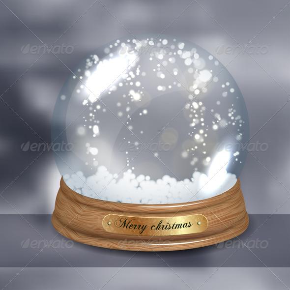 GraphicRiver Snowglobe 6323280