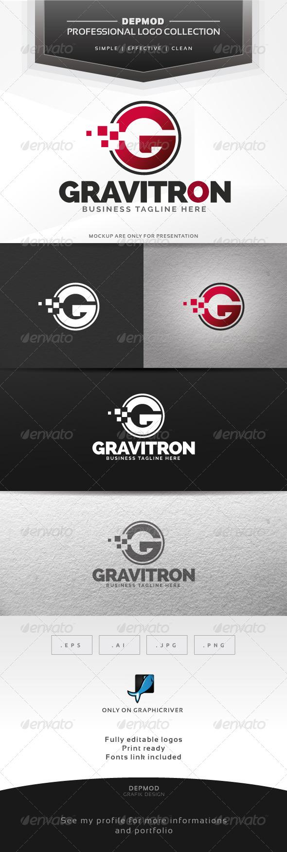 GraphicRiver Gravitron Logo 6323441