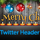 Christmas Twitter Header Image - GraphicRiver Item for Sale