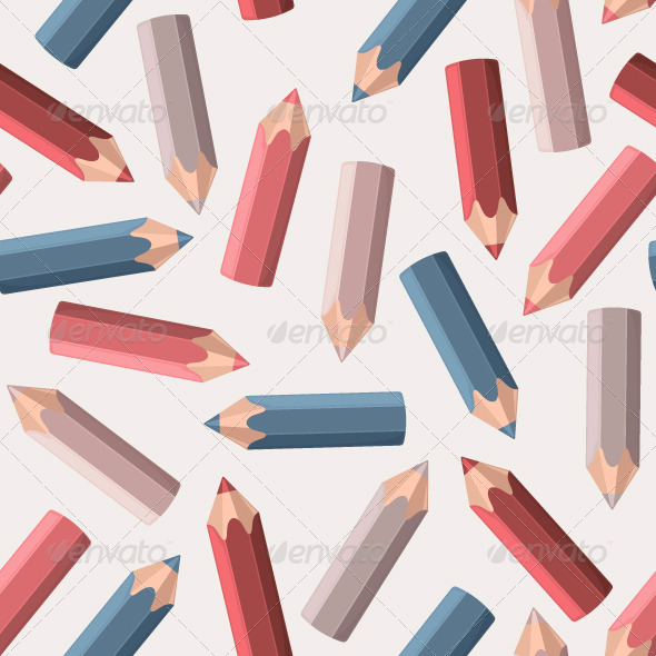 GraphicRiver Background with Colored Pencils 6324013