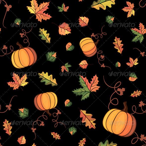 GraphicRiver Vector Autumn Pattern 6324135