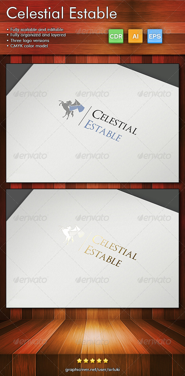 CelestialEstable - Crests Logo Templates