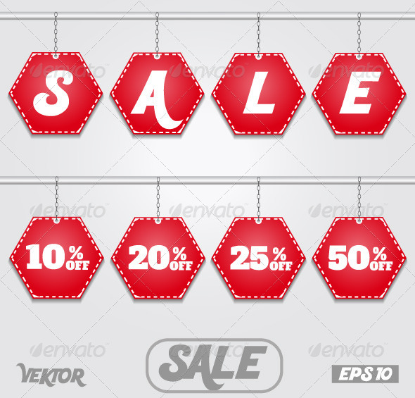 GraphicRiver Discount Text Sale with Numbers 6322714