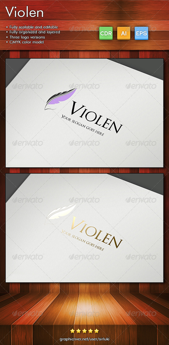 Violen - Objects Logo Templates