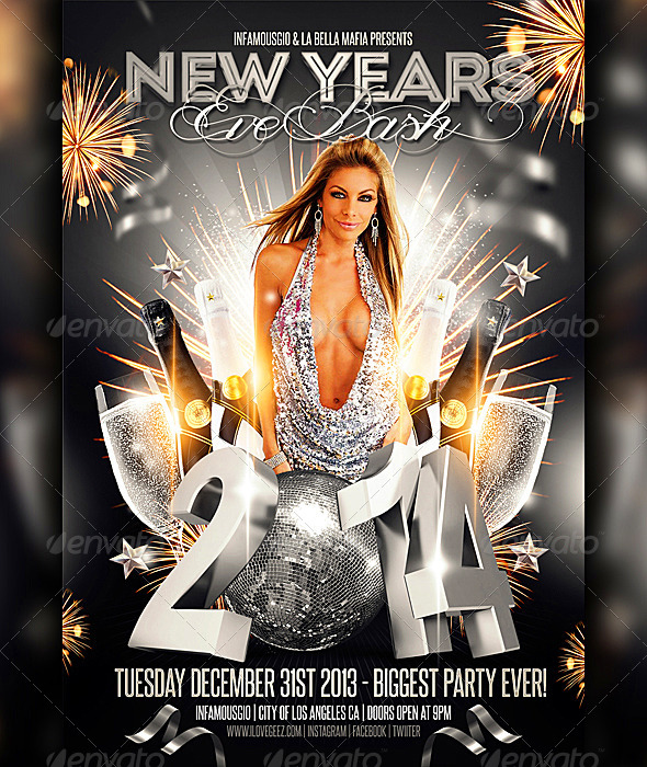 GraphicRiver New Years Eve Bash 6283162