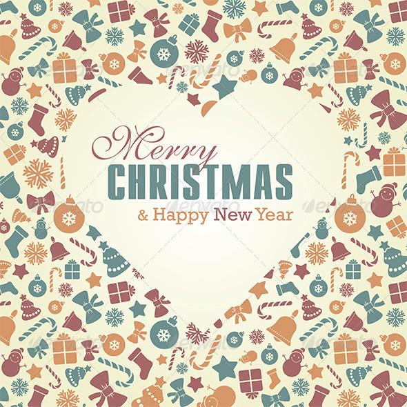GraphicRiver Merry Christmas Card 6324357