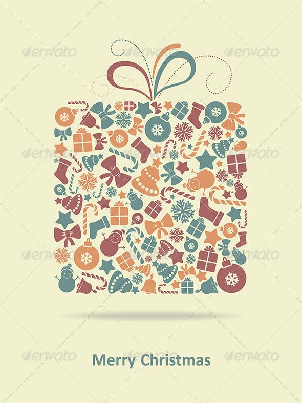 GraphicRiver Merry Christmas Card 6324458