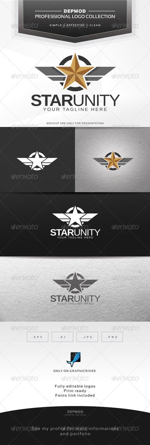 GraphicRiver Star Unity Logo 6324669