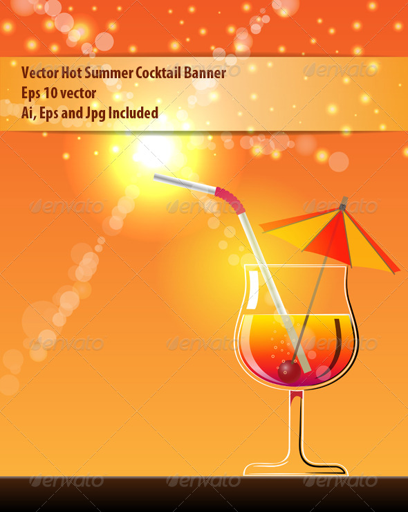 GraphicRiver Summer Banner 6325151