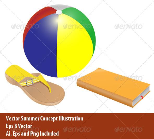 GraphicRiver Summer Concept 6325294