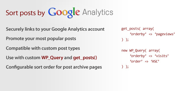CodeCanyon Sort by Google Analytics 6325372