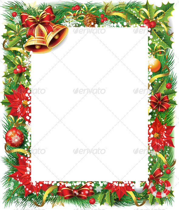 GraphicRiver Christmas Frame 6325374