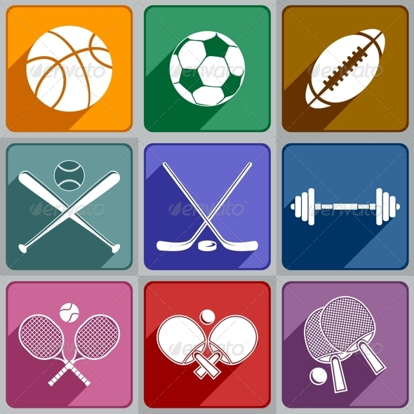GraphicRiver Sports Icons 6325376