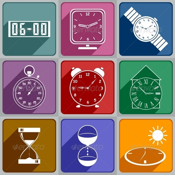 Vintage Watches Vector Stock Photos