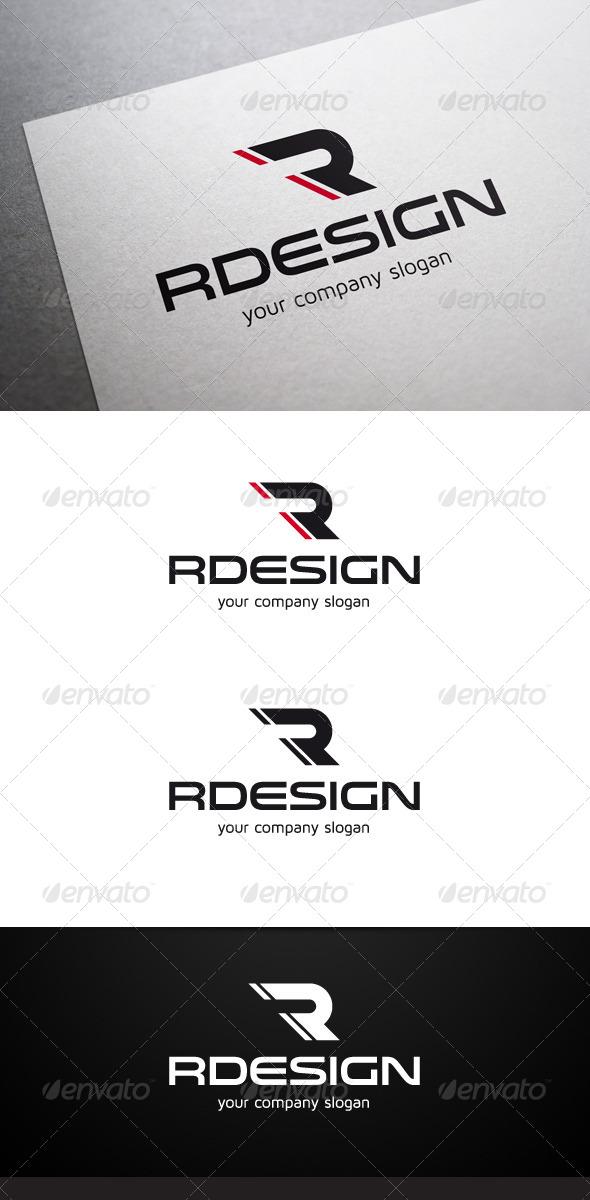 GraphicRiver Rdesign R Letter Logo V2 6325662