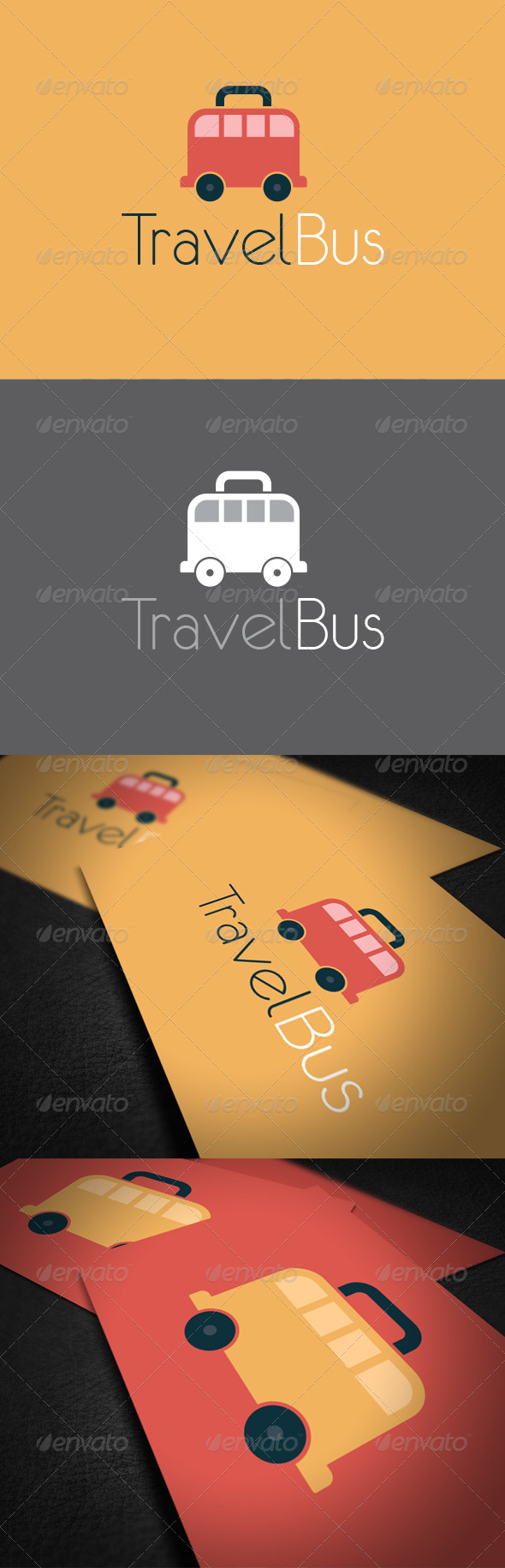 GraphicRiver Travel Bus Logo Template 6325829