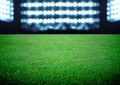 soccer field and the bright lights - PhotoDune Item for Sale