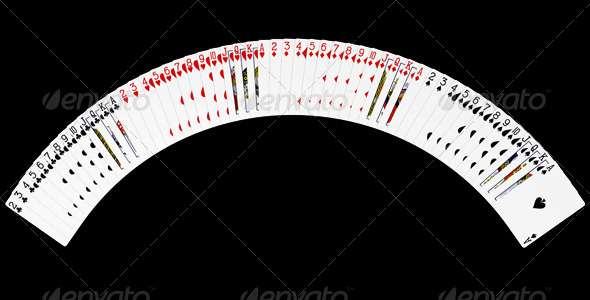 Playing Cards Spread Graphicriver