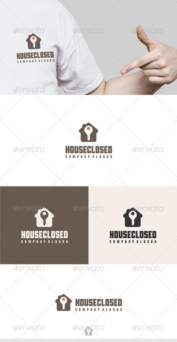 GraphicRiver House Closed Logo 6326511