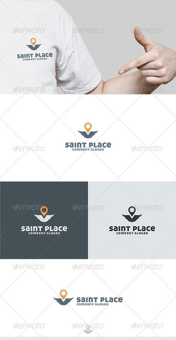 GraphicRiver Saint Place Logo 6326604