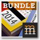 Pocket  Calendar Bundle 2014 - GraphicRiver Item for Sale