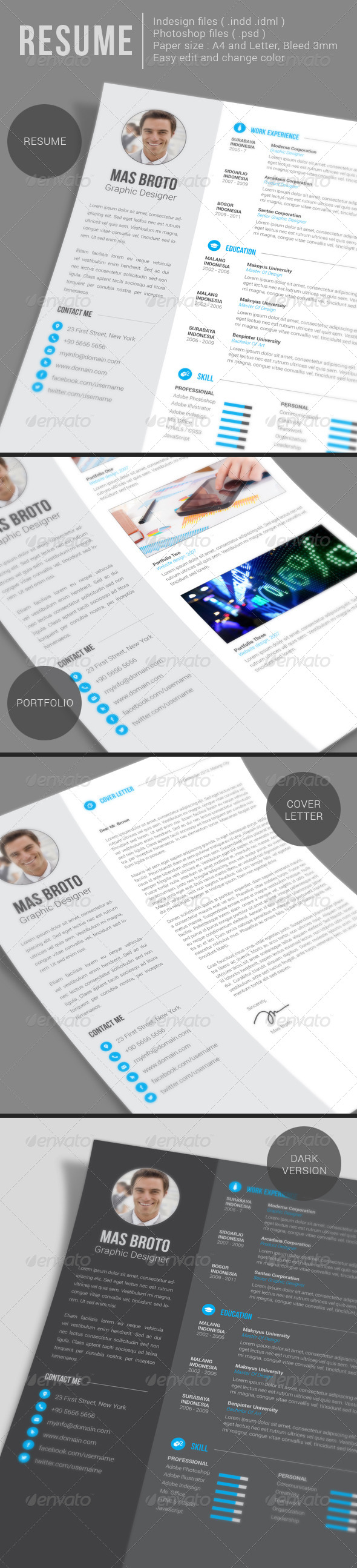 GraphicRiver Resume 6327232