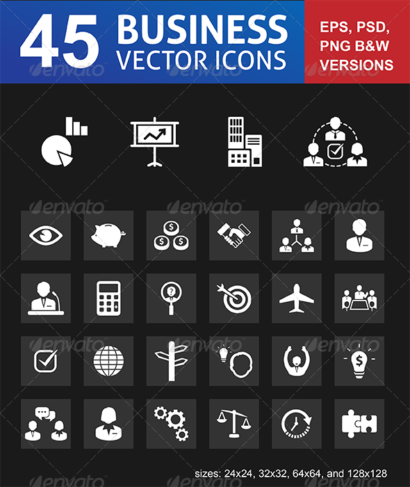 GraphicRiver Office and Business Icons 6327280