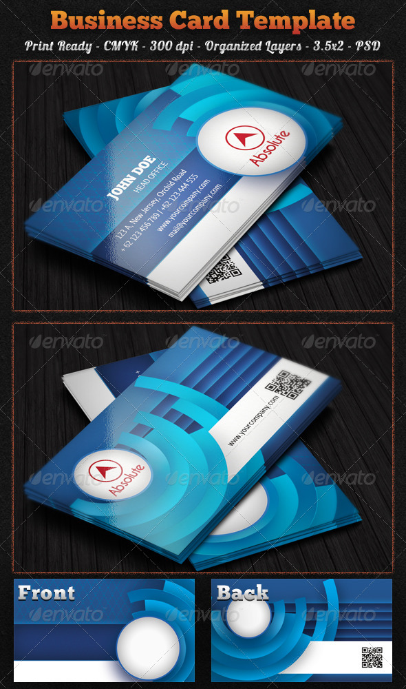GraphicRiver Corporate Business Card 6327283