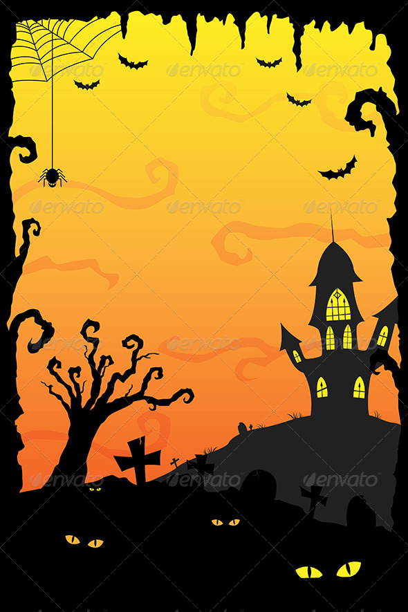 GraphicRiver Halloween Background 6327291