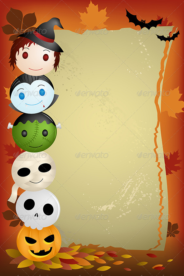 GraphicRiver Halloween Background 6327301