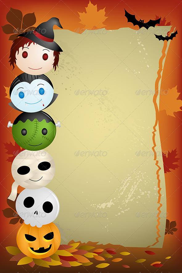 GraphicRiver Halloween Background 6327301